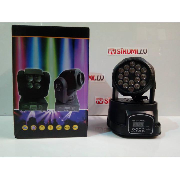 LED Stage Light Double Sides Mini LED Wash Moving Head Light