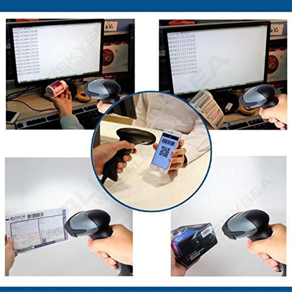 2D/QR Hand-Held Laser Barcode Scanner M4