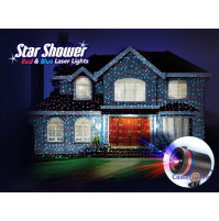 Star shower laser magic light projector. Light up your house before Christmas.