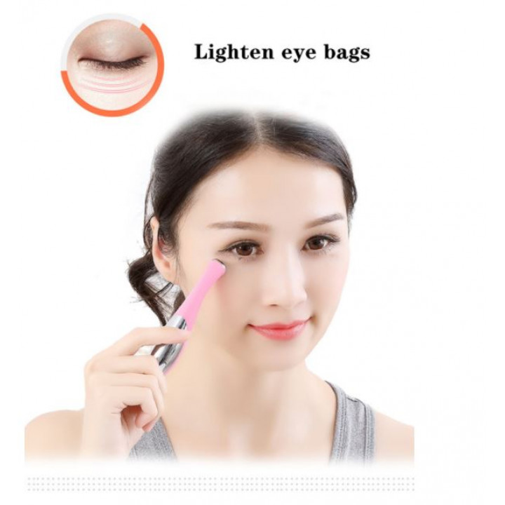 Ionizing Eye Massager Eye Anti Wrinkle Massager for Wrinkles, Circles and Bruises to Improve Blood Circulation Camuo