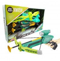 Child safety crossbow with target