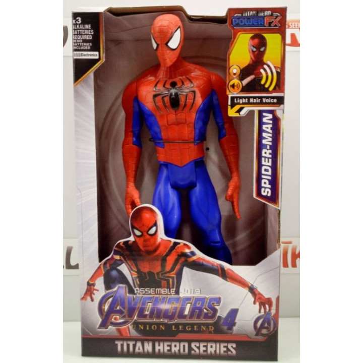 Collectible figures of Marvel and DC superheroes