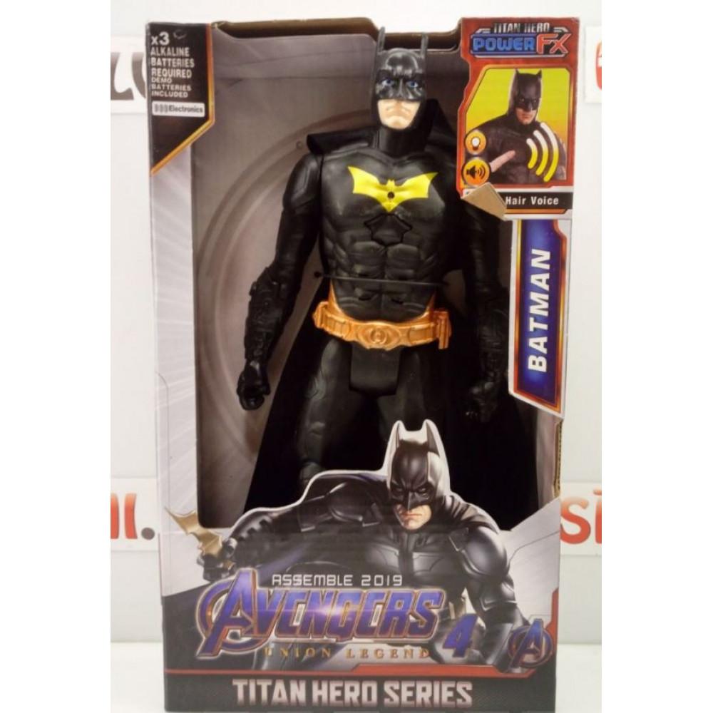 Marvel & DC Interactive Collectible Figures - Superman, Thanos, Spider-Man, Hulk, Batman 29 cm