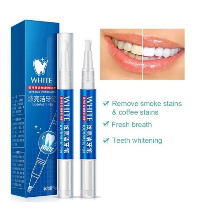 Yourways Magic pencil for fast and painless teeth whitening and a Hollywood smile