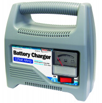 Automatic charger 12 V for batteries of cars, motorcycles
