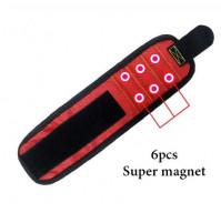 Magnetic bracelet for builders