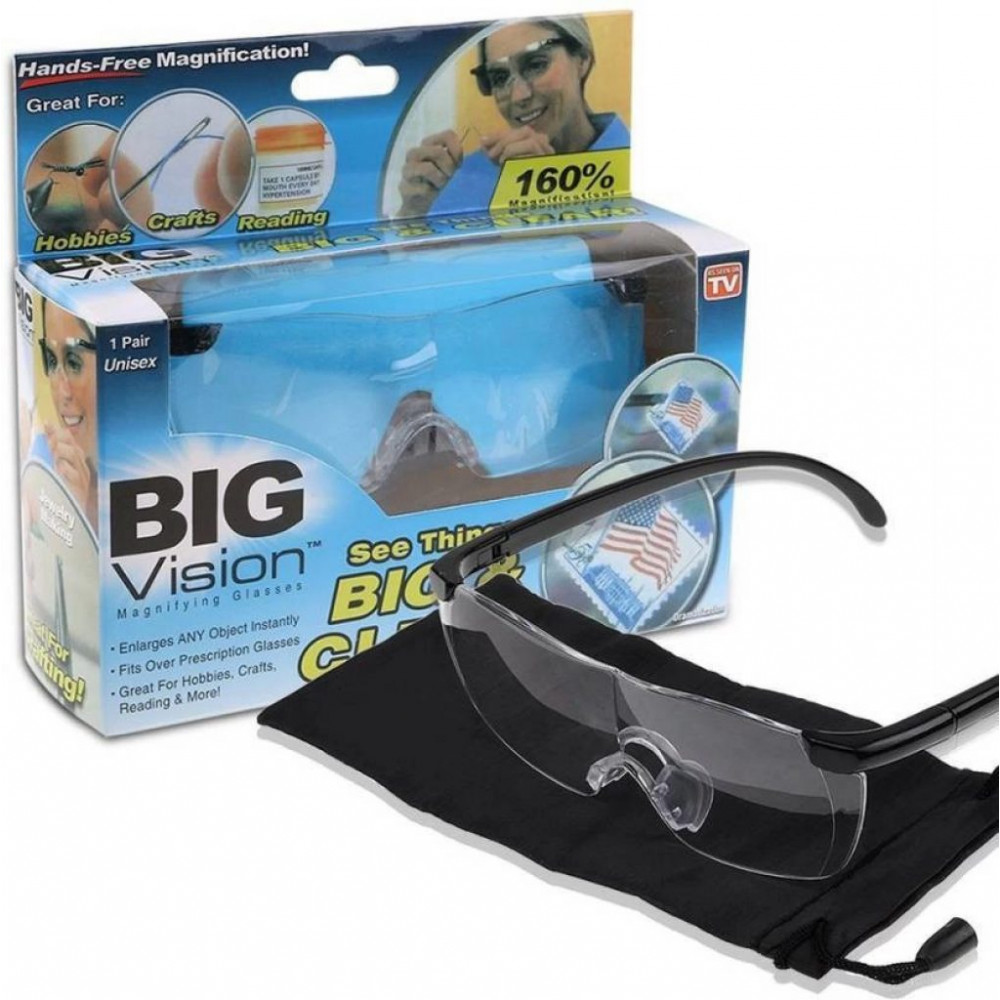 Big Vision 160x magnifying glasses for small jobs