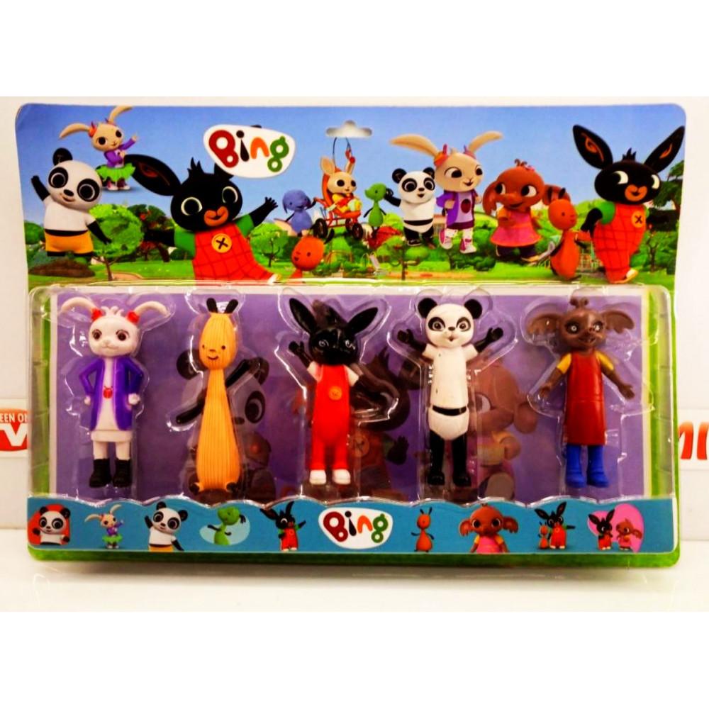 Bing Bunny Game Collectible Cartoon Figures