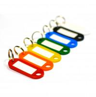 Keychain key tag