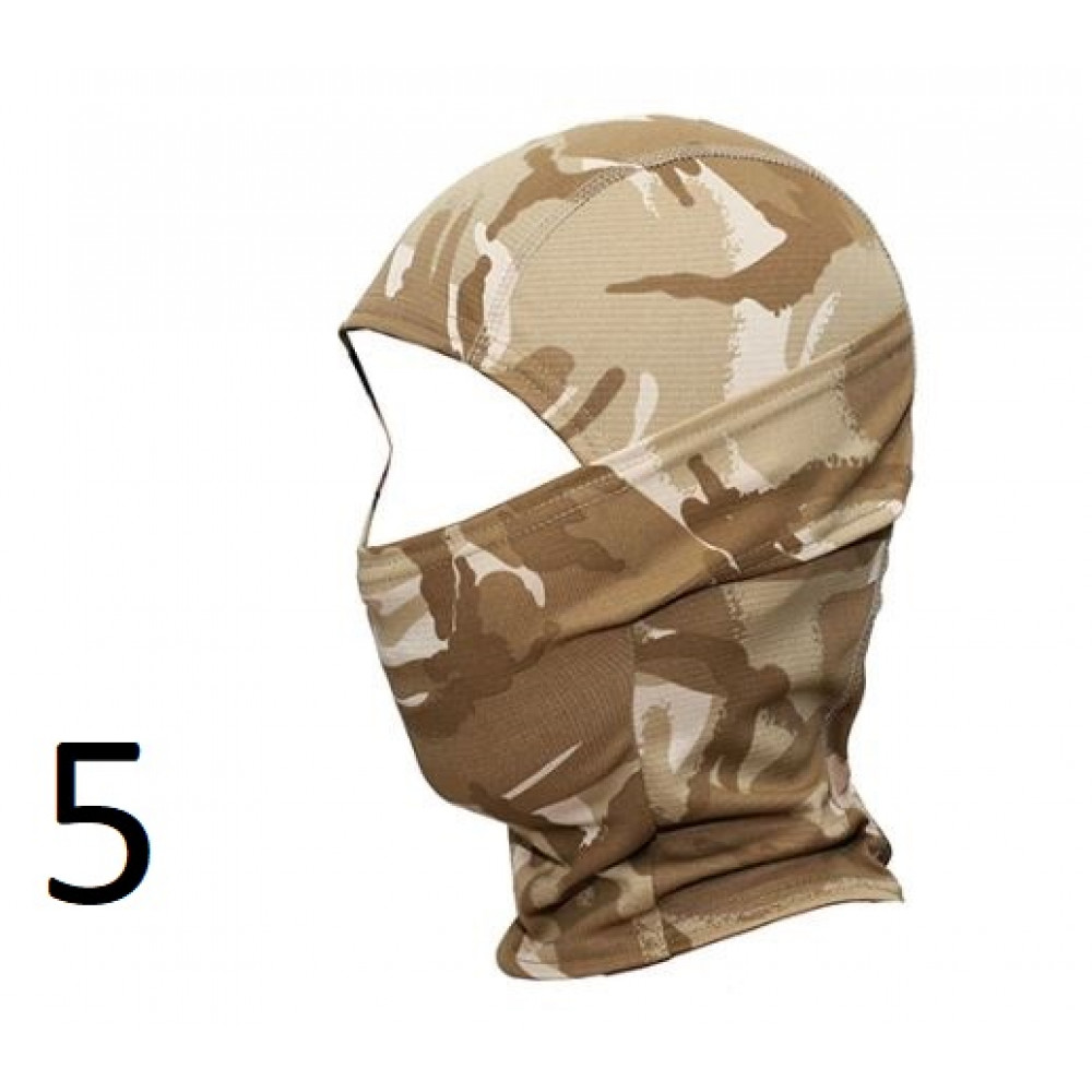 Stylish balaclava of different colors for hunters, fishermen, motorcyclists, bikers, tourists and just active people