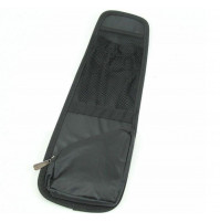Car organizer for front seats, additional side pockets for small items