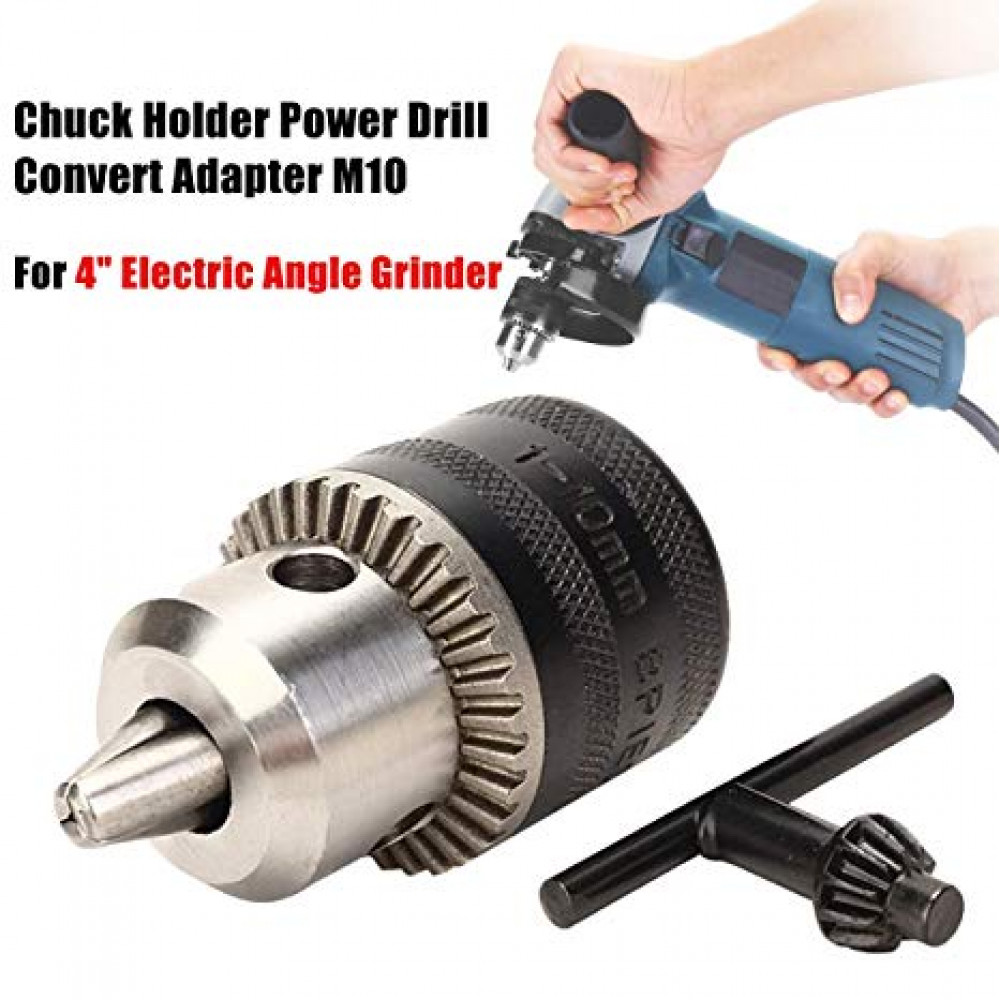 Adapter for angle grinder - drill 10 mm
