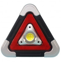 Multi-function flashlight - Hurry & Go warning triangle