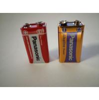 Батарейки разного вида, крона 9 В, бочки аккумуляторы формата C и D 1.5 V
