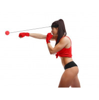 Trainer for speed and precision - boxing ball