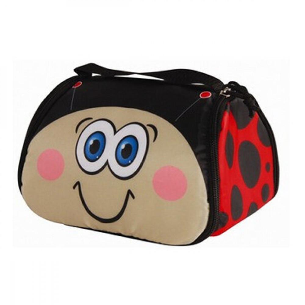 Snack Pets Ladybug Cooling Lunch Bag