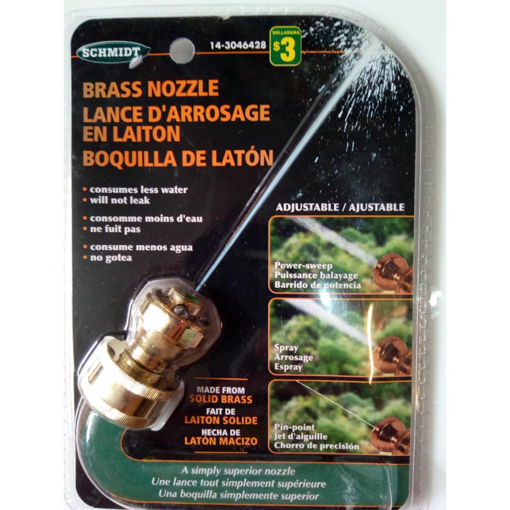 Šļūtenes uzgalis - aerators ūdens taupībai Brass Nozzle