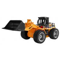 Toy gift for a boy - toy car Big metal construction bulldozer XXL with radio control