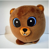 Cute plush stuffed toy, Fluffy Owl or Funny Bear