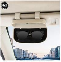 Universal holder glass case for car visor