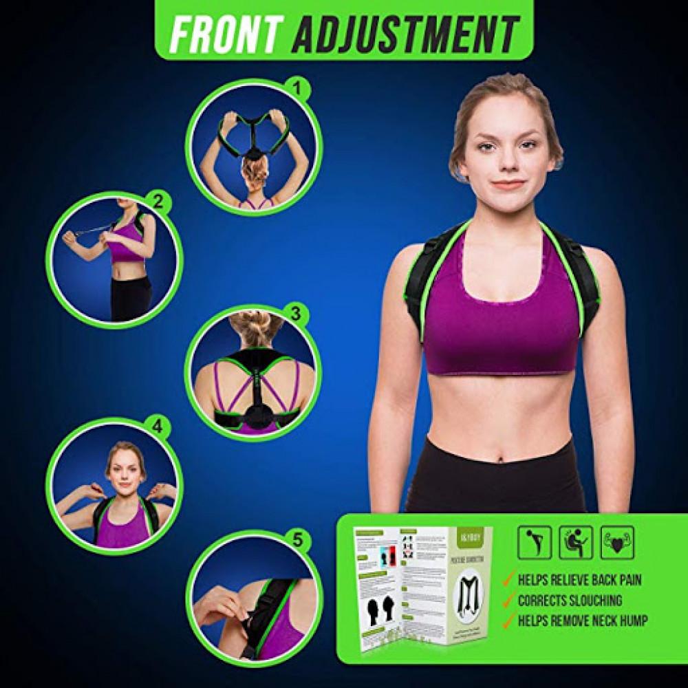 Orthopedic quick posture corrector made of neoprene