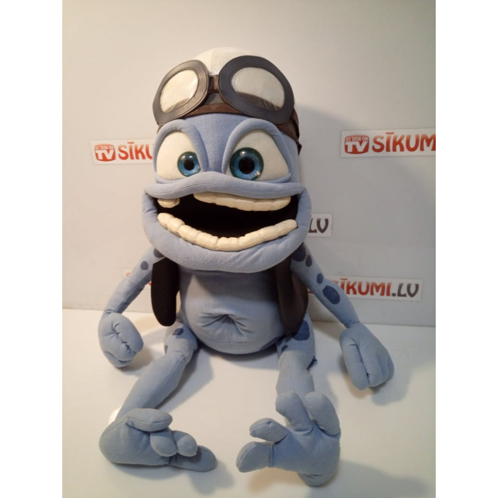 Used product! Crazy Frog 70 cm soft toy from the famous clip Axel F - Crazy Frog