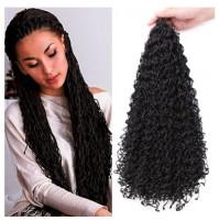 Zizi's stylish extensible kanekalon natural colors curly braids