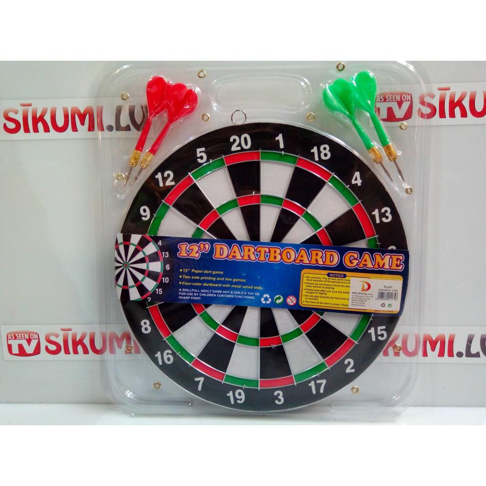 Real game Darts, Target and 6 Darts