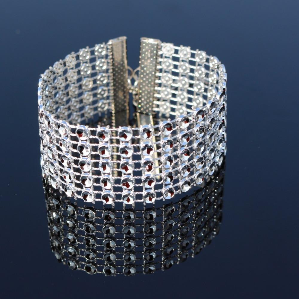 Swarowski Crystals Hand Bracelet