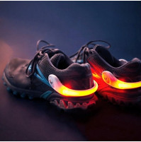 PowerSpurz LED heel clips - Visibility Lights For Nighttime Runners
