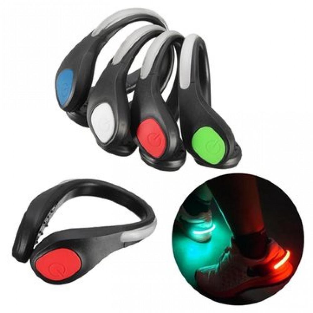 PowerSpurz LED papēžu klipši - redzamības gaismas nakts skrējējiem