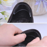 Silicone Gel Heel Cushion protector Foot feet Care Shoe Insert