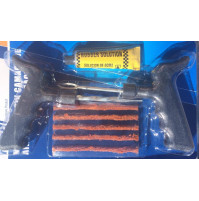 Auto tire repair set