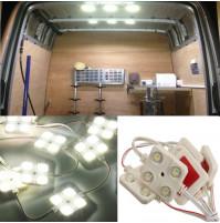 4 x LED elementi automašīnu apgaismošanai
