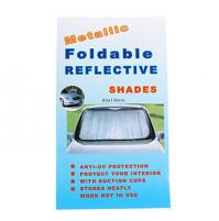 Foldable reflective shade