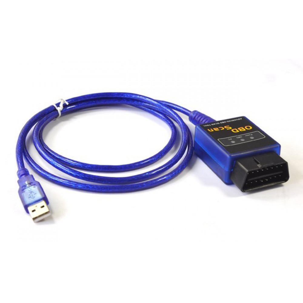 Auto datora diagnostikas iekārta, ELM 327 OBD ll - USB adapteris VAG COM 409.1 KKL USB