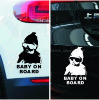 Carlos the Baby on board Sticker Onboard