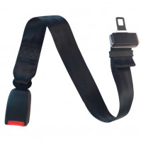 Auto Car Safety Belt Extender with Buckle, 68 cm