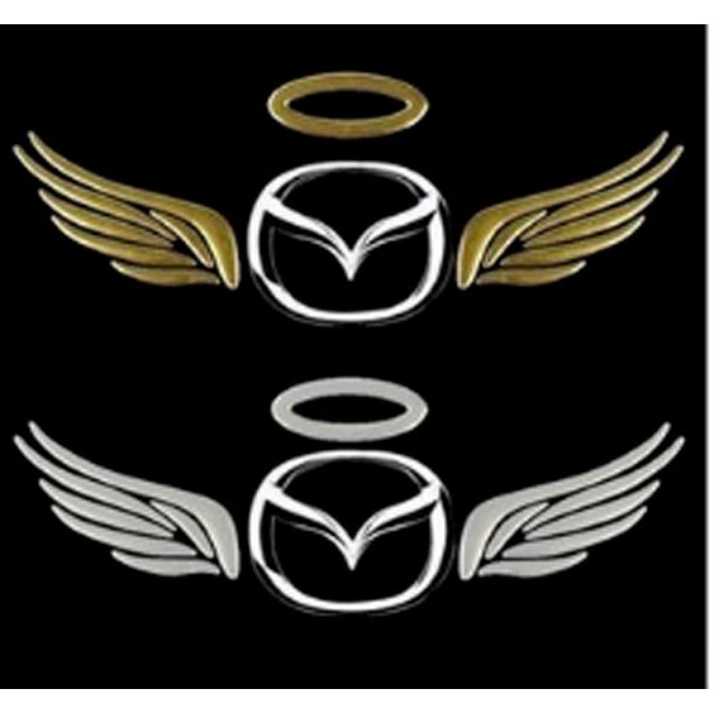 Uzlīme foršiem vāģiem  - oreols un enģeļa spārni