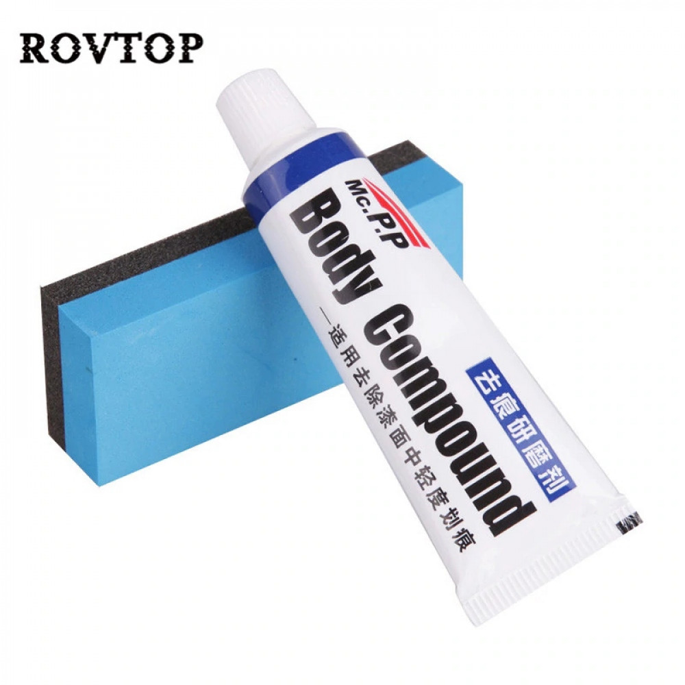Car Body Compound Scratch Remover and Repair Kit - Polishing Grinding Paste