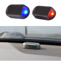 Led Light Security System Warning Theft Flash Blinking Fake Solar Car Alarm LED Light