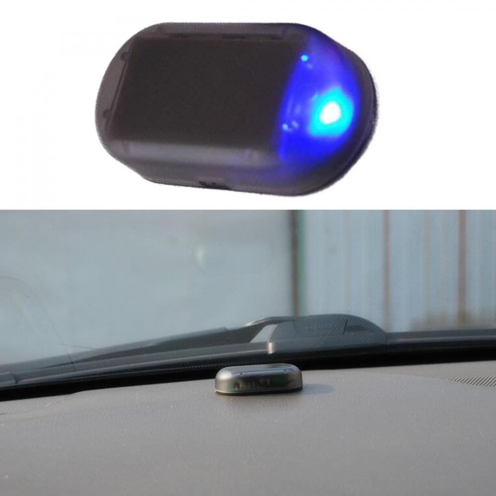 Led Light Security System Warning Theft Flash Blinking Fake Solar Car Alarm LED Light