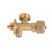 Газовый вентиль типа CGV для подключения многоразового газового баллона Campingaz R 907 для яхт и кемперов