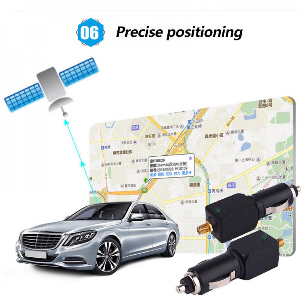 Car Vehicle GPS Blocker Isolator Anti Tracking Device with Antenna +Fuse