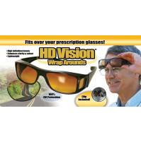 HD Vision Wrap Arounds Driver Sunglasses