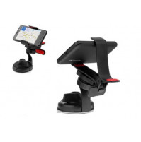 The universal car holder - clothespin for mobile phones, MP4, PDA and GPS-navigator