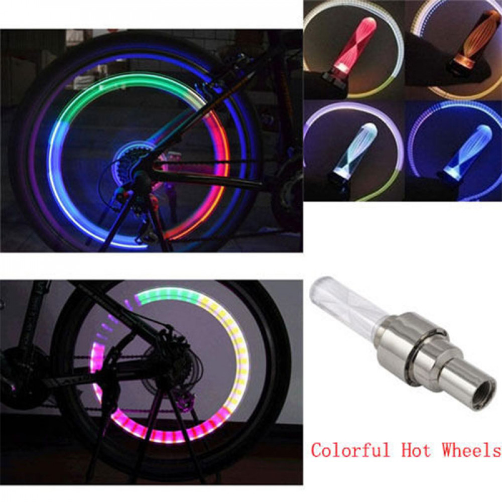 LED for bycicle/car wheels x4