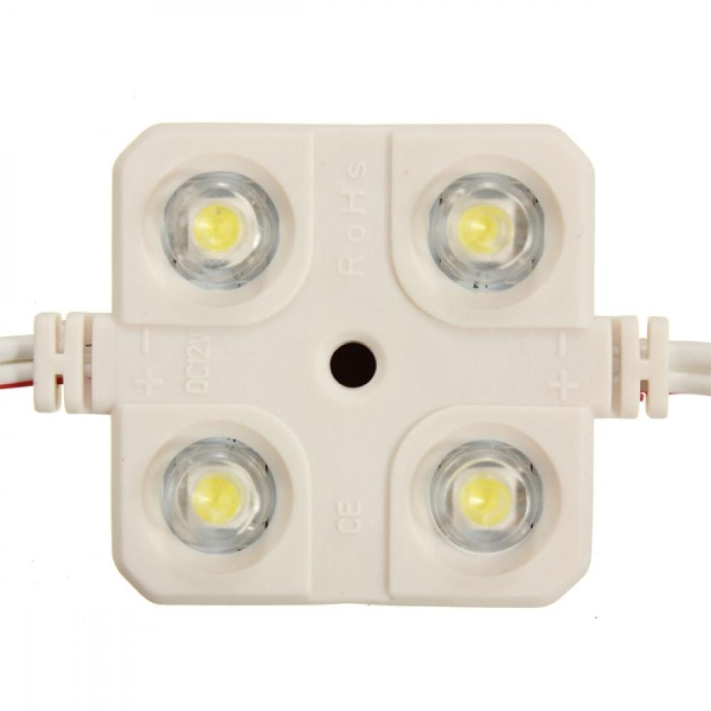 Car 12V 4 x LED Element Interior Light Kit