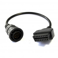 Mercedes-Benz Sprinter or VW LT Van 14Pin - 16Pin OBD2 OBD  OBD II cable