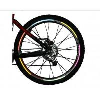 Fluorescējošs atstarotājs velosipēdam